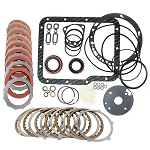 Powerglide Master Overhaul Kit (INCLUDES: 8 DIRECT (RED) / 5 REV (TAN) CLUTCHES, STEELS, GASKETS & RINGS)