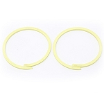 POWERGLIDE PUMP SEALING RINGS (HIGH CLUTCH) TEFLON (PAIR)