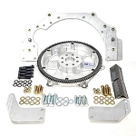 2JZ Gen2 Adapter Plate for Chevy Trans w/Billet SFI Flywheel Kit