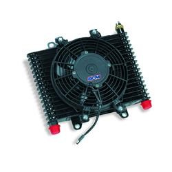 "Transmission Cooler 13-1/2""x9""x3-1/2"" w/ 9 1/2"" Fan"
