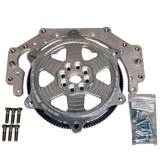 2JZ Adapter Plate for Chevy Trans w/Billet SFI Flywheel Kit